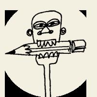 Michel Streich illustrator website logo