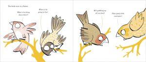 Scary Bird Doppelseite 03
