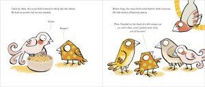 Scary Bird Doppelseite 05
