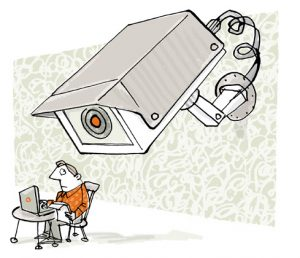 illustration CCTV