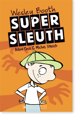 cover Wesley Booth Super Sleuth