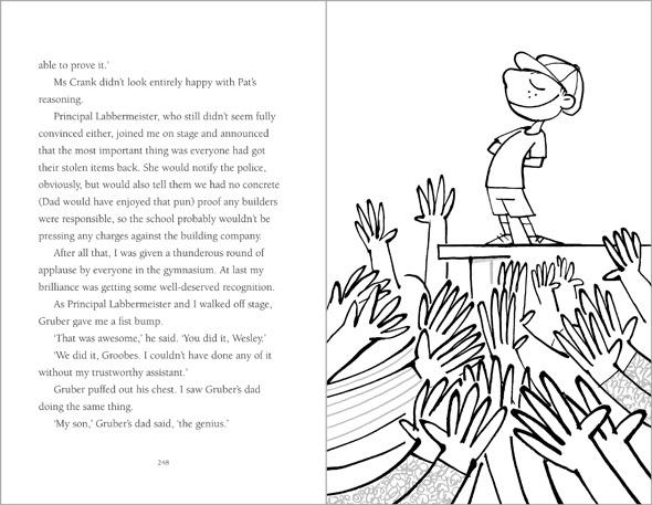 illustration Wesley Booth celebrated