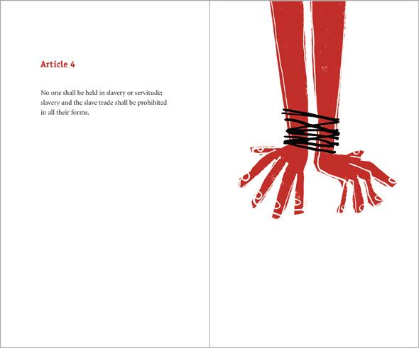 illustration bound hands